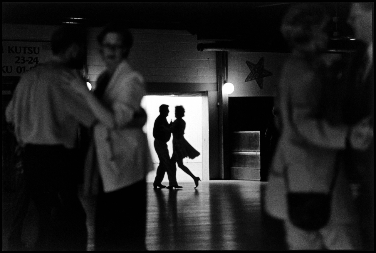 Tango táncosok, Helsinki,  Finnország, 2001