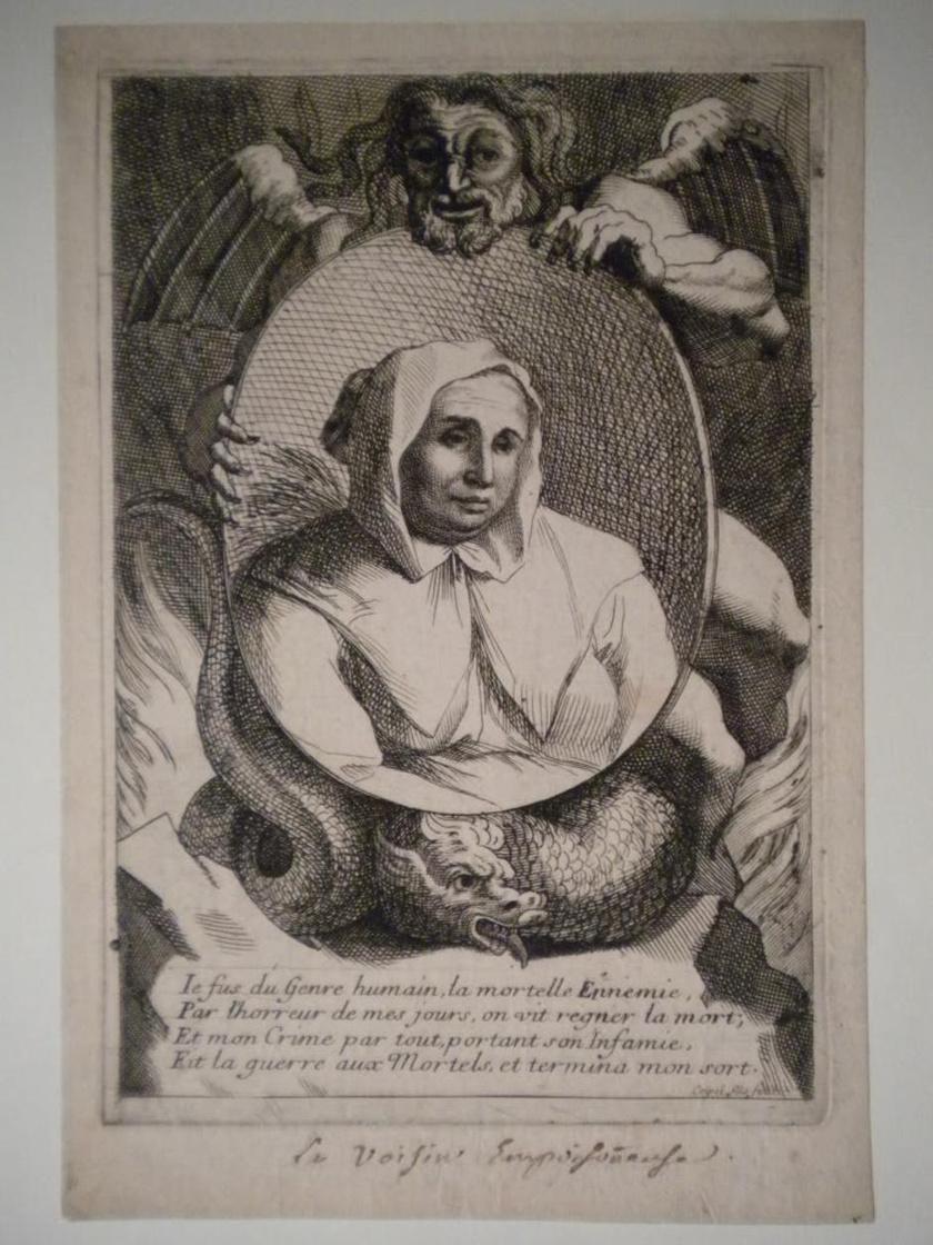 Catherine Voisin a vád szerint az 1660-as években tartott fekete miséket, és árult a gyógyfüvek mellett abortuszt okozó gyógyszereket a nőknek. Megkínozták, méregkeverőnek és gyilkosnak titulálták, majd máglyán megégették.