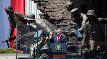 Trump: A lengyelek nagyszerű emberek, hősök egy gyönyörű vidéken