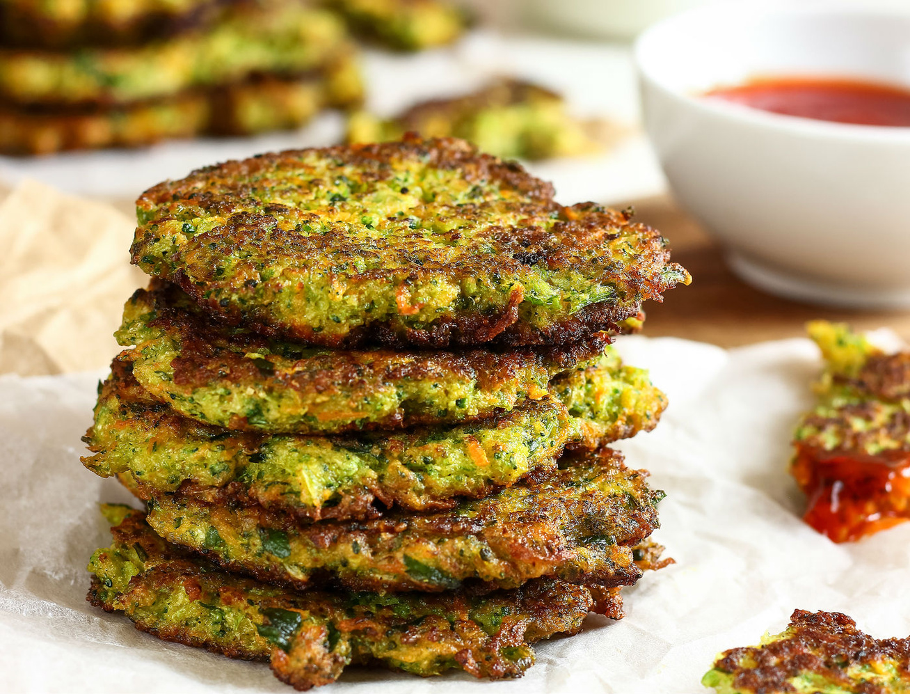Gluténmentes, sajtos brokkolilepénykék - Ezt edd, és fogyni fogsz