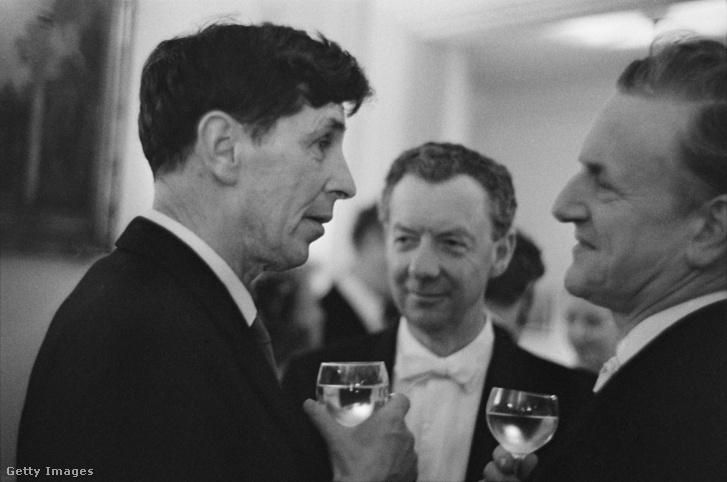 Michael Tippett, Ben Britten és Peter Pears. Tippett a másságát nyíltan felvállaló zeneszerző volt, aki kevéssé ismert még hazánkban.