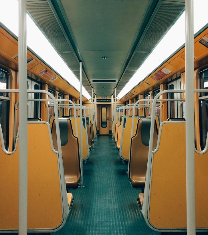 Brüsszeli metrókocsi