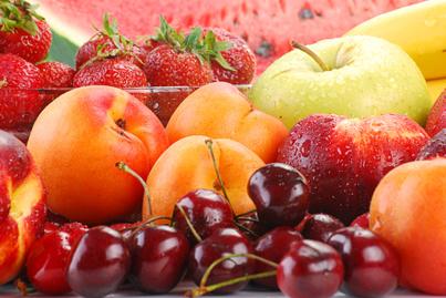 nyári gyümölcs