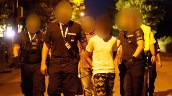 Őrizetben vannak a Soundon paprikaspray-vel ékszert lopó külföldiek