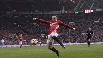 Wayne Rooney 13 év után elhagyta a Manchester Unitedet