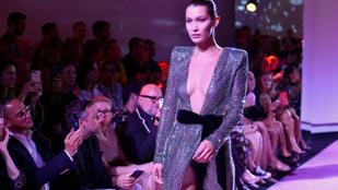 Palvin Barbara visszafogott, Bella Hadid bevállalós volt a Párizsi Divathéten