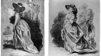 Eddig ismeretlen Thomas Gainsborough rajzok kerültek elő a windsori kastélyból