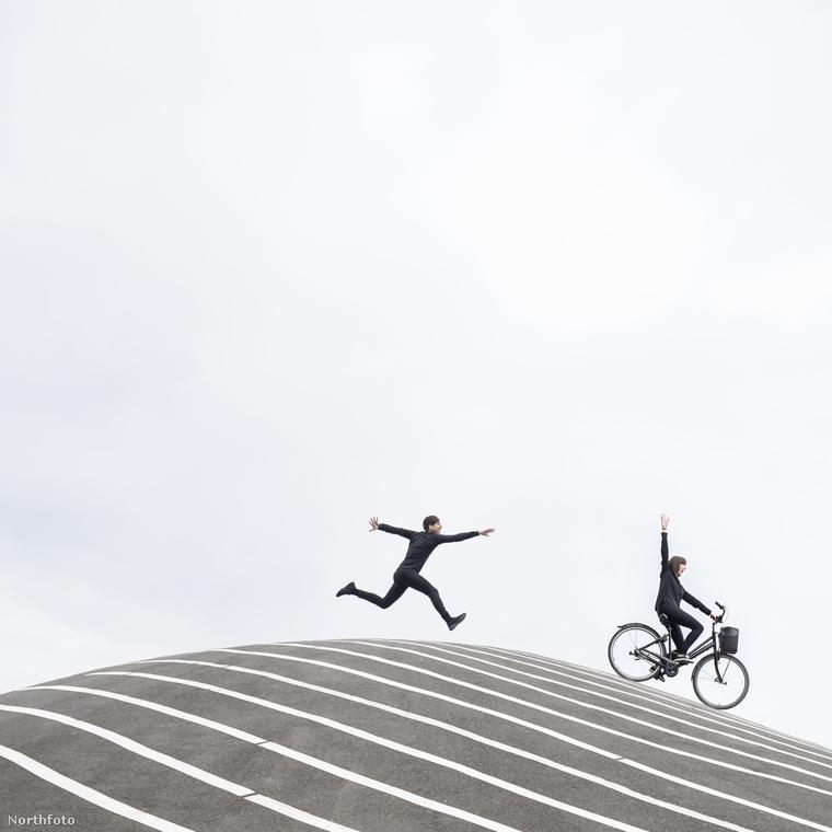 Szeretik a bicikliket, a csíkokat és a fekete-fehér kontrasztot
