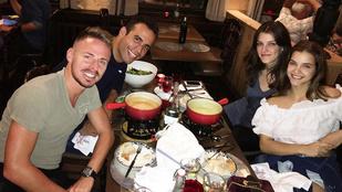 Ez most már azt jelenti? Palvin Barbara és Dzsudzsák Balázs együtt vacsoráztak