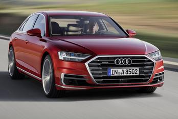 Bemutatták az új Audi A8-ast