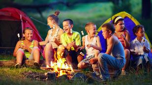 A jó táborban szabadok a gyerekek