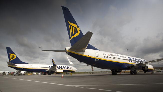 A Ryanair minden ukrajnai járatát törli