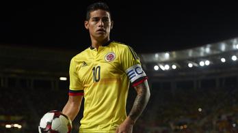 James Rodriguez a Realtól a Bayern Münchenbe szerződött