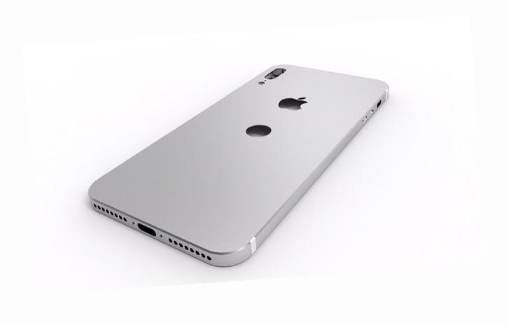 Egy, az iphone 8-ról eddig szivárgott információk alapján készült, nem hivatalos látványterv