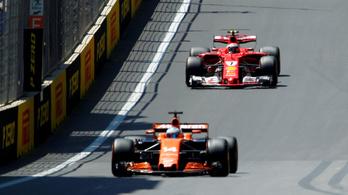 McLaren-Ferrari a láthatáron