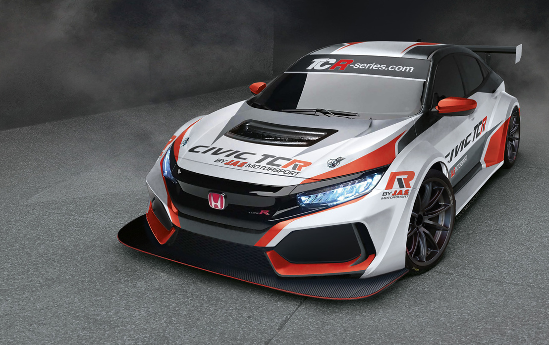 jas-motorsport-to-introduce-new-honda-civic-type-r-tcr-in-2018