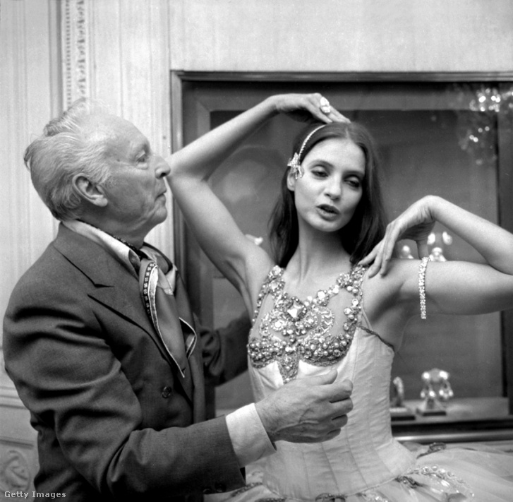 George Balanchine és Suzanne Farrell