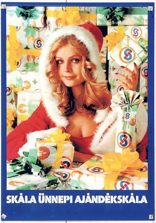 1976-ban Komjáthy Ágnes lett a Skála első reklámarca. Hét évig látta el ezt a feladatot, de a mai napig Skála Ágiként emlegetik. 2007-ben ott volt a budai Skála áruház épületének lebontásánál is. Idén márciusban ünnepelte 64. születésnapját