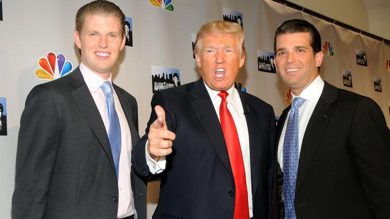 Fia miatt is főhet Trump feje
