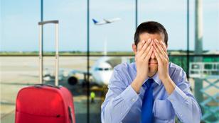 10 ember, aki nagyon tud idegesíteni a repülőúton