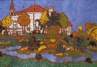 Rippl-Rónai József - A geszti kastély, 1912