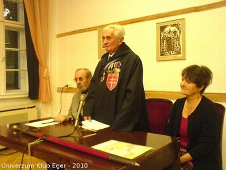 Árpádházi Daka József bejelentette igényét a trónra (Képek: Medgyesi Iván, Univerzum Klub, Eger)
