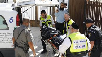 Lelőttek két palesztint, akik rendőrökre támadtak