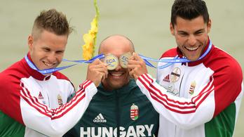Megint potyognak a magyar aranyak a kajak-kenu Eb-n