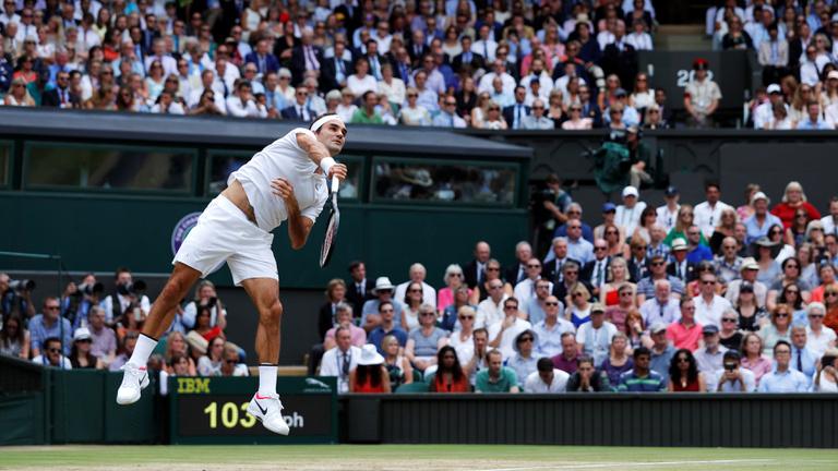 Federer történelmet írt, 8. Wimbledonját nyerte