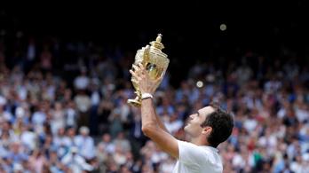 Federer történelmet írt, nyolcadszor nyert Wimbledonban