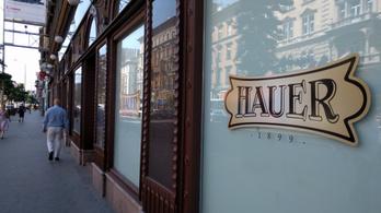 Augusztusban újranyit a legendás Hauer cukrászda