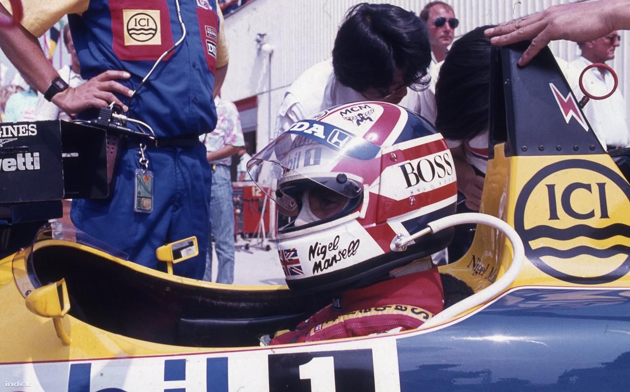 Mansellről már szóltunk, többször is volt főszereplő, de leginkább talán 1992-ben, amikor pedig nem is ő győzött, hanem Senna: az angol nálunk biztosította be első és egyetlen világbajnoki címét.
