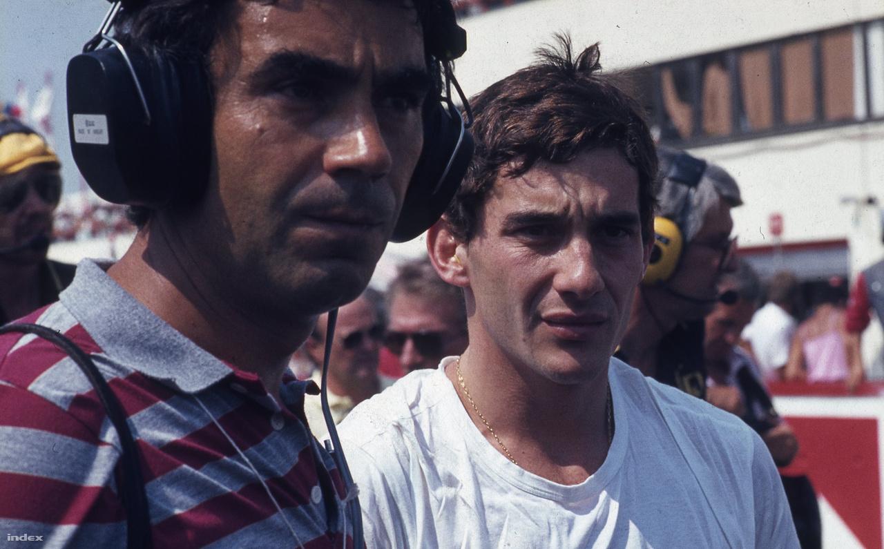 Ayrton Senna, a Hungaroringen ő indult elsőként a pole pozícióból. A futamon második lett, miután Nelson Piquet egy zseniális manőverrel megelőzte. Később háromszor győzött a magyar F1-pályán, az egyik legnagyobb mestere lett a Hungaroringnek.