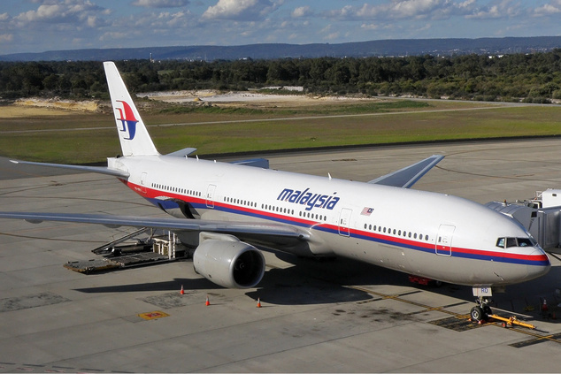 A Malaysia Airlines Boeing 777–200ER típusú gépe