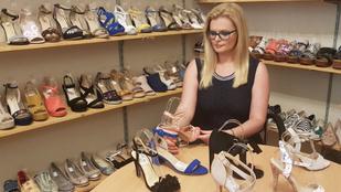 Magyar tervezőnő cipőjével vannak tele a boltok!