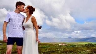 Ez a vőlegény nagyon megszívta az elutazós esküvőt