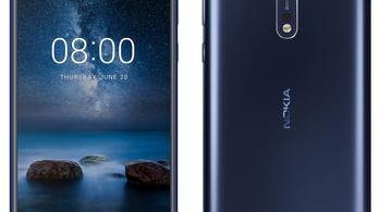 Dupla Zeiss kamerával érkezik a Nokia 8