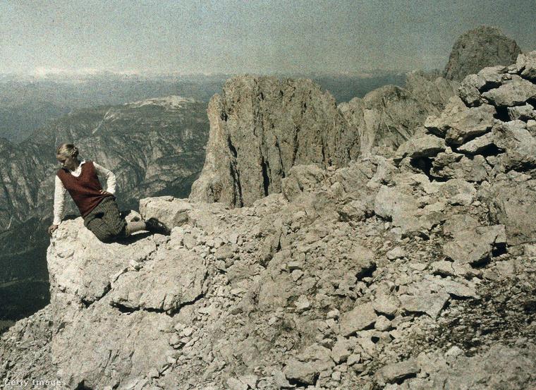 A Dolomitoknál 1929-ben