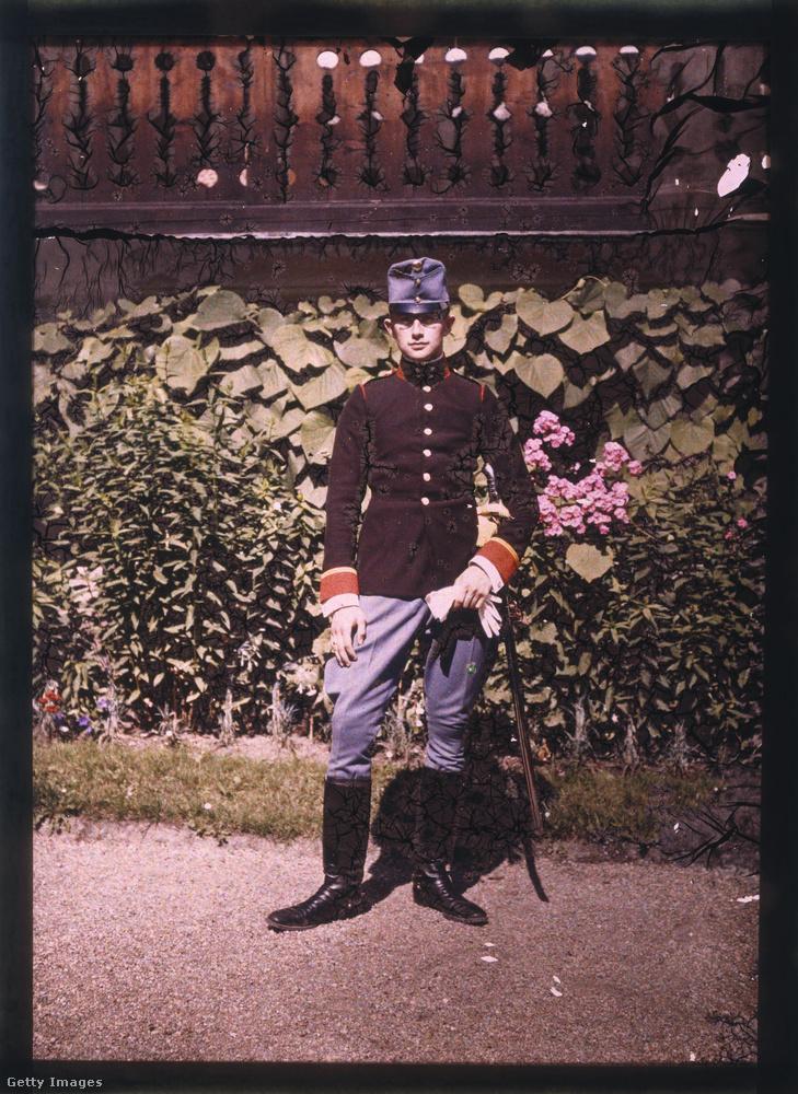 1920-ban egy portrét készített egy ismeretlen katonáról