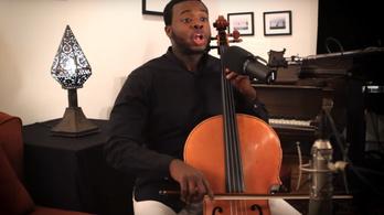 Bachot csellózva beatboxolni az új dili