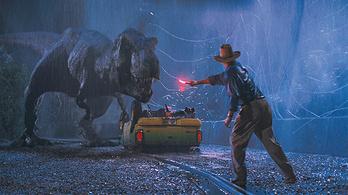 Hazudott a Jurassic Park, simán elfuthatunk egy T-Rex elől