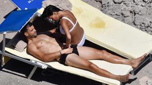 Nicole Scherzinger értelmezhetetlen dolgokban próbálja túlszárnyalni pasiját a strandon