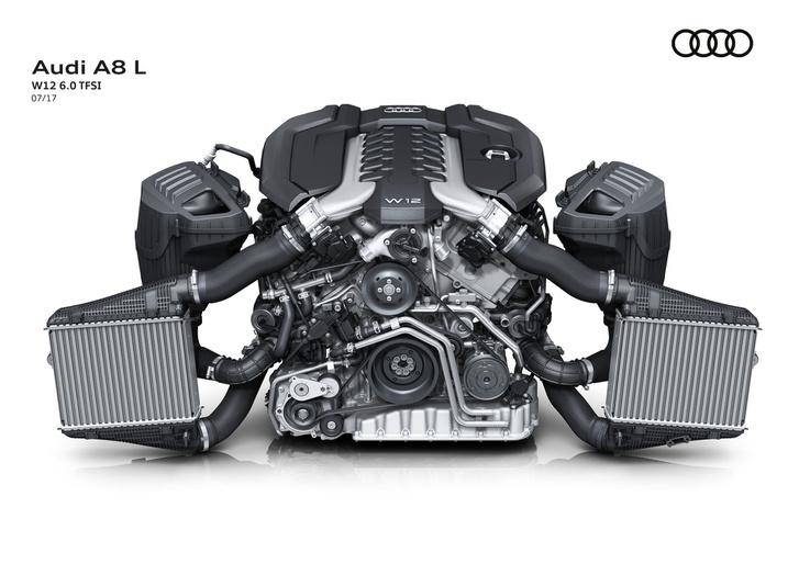A Bentley-ben használt biturbó W12-es motor kiegészítették szívócső-befecskendezéssel