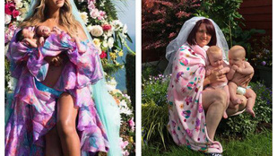 Egy anya újragondolta Beyoncé babafotóját, és milyen jól tette!