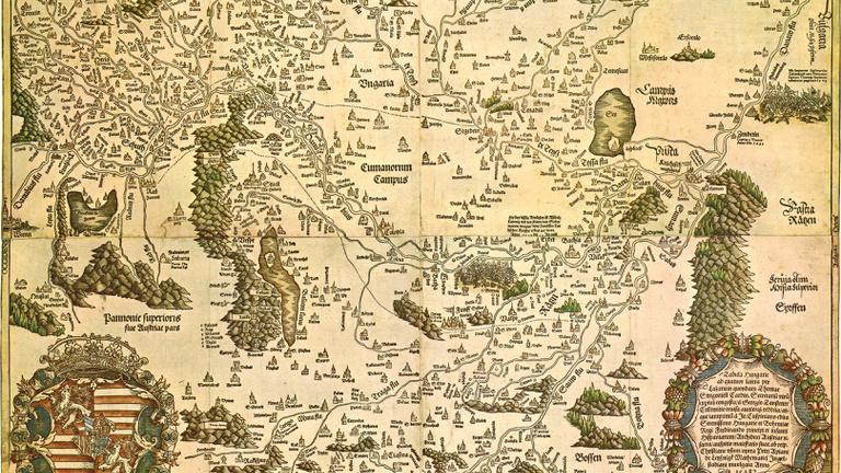Európát akarta felébreszteni a legelső Magyarország-térkép