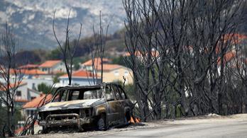 Sikerült megállítani a tüzet Horvátországban