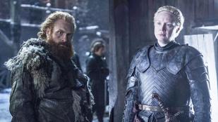 Végre beteljesedett a Trónok harca Brienne-jének és Tormundjának a szerelme