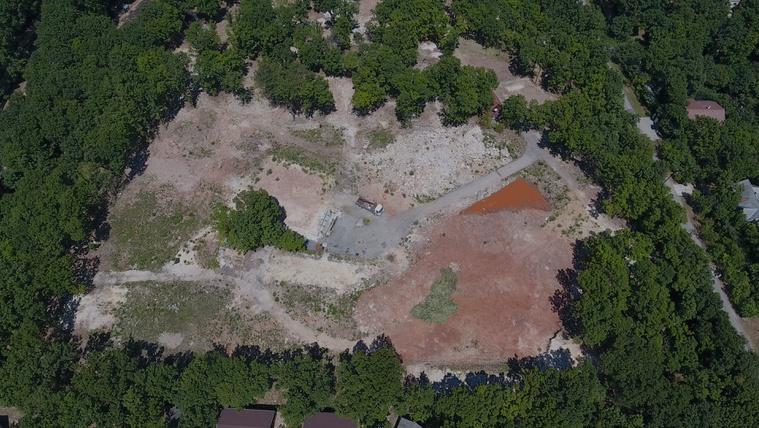 Rengeteg fát vágtak ki Káptalanfüreden