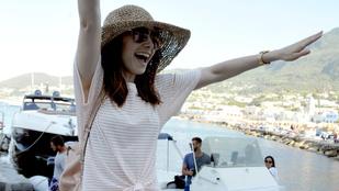 Lily Collins olaszországi fotóitól menten indulnánk vissza nyaralni