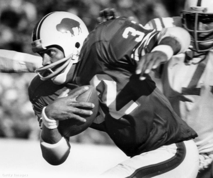 A Buffalo Bills játékosaként 1973-ban